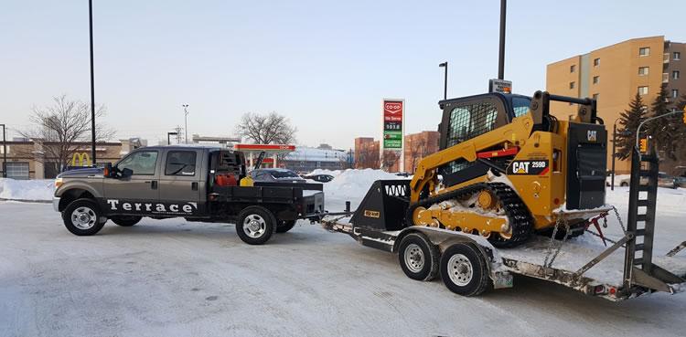 Snow Plowing Service Winnipeg MB