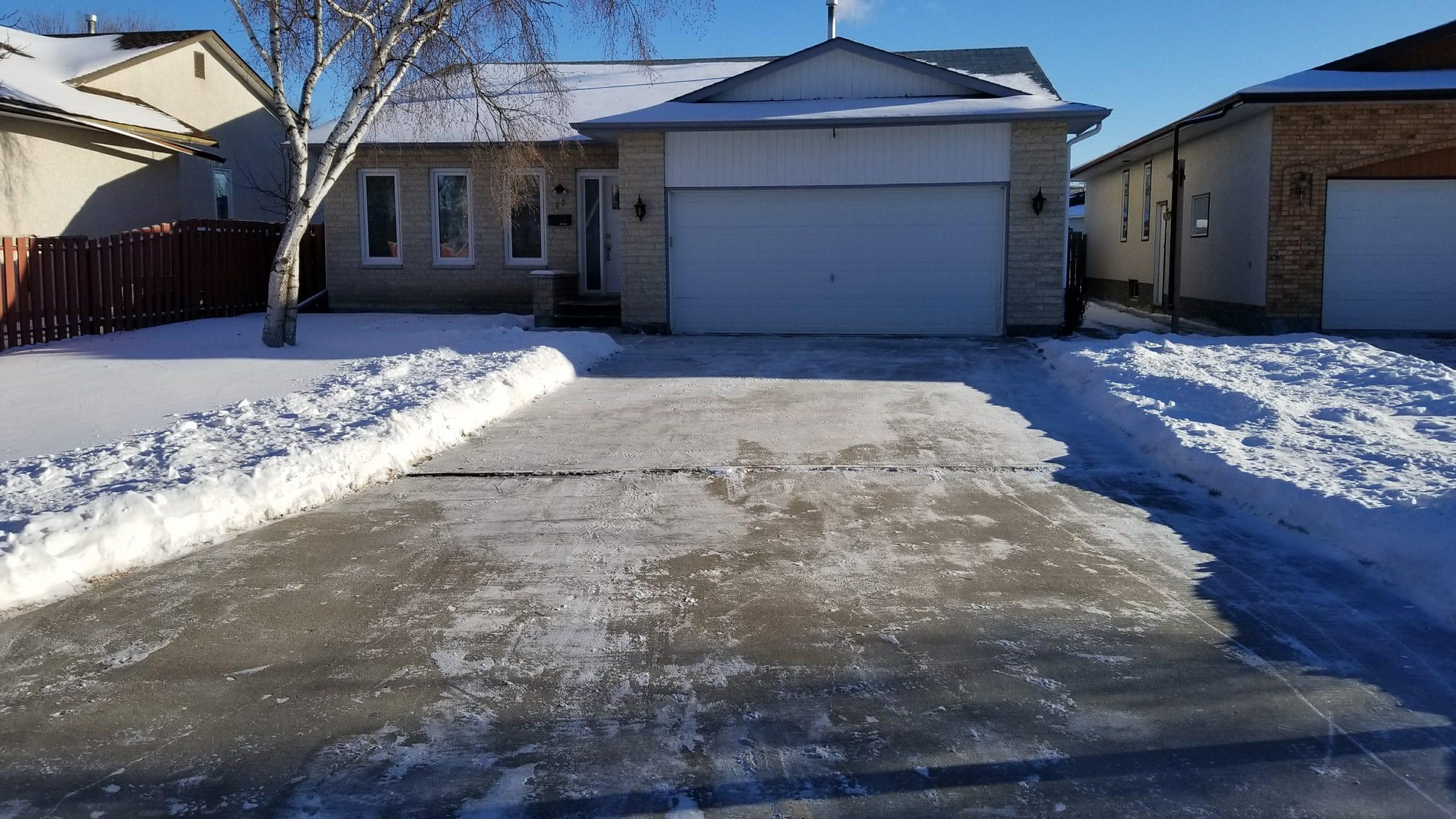 Residential Snow Removal Winnipeg MB